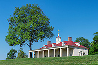 Washington estate mansion at Mt Vernon, Virginia, USA