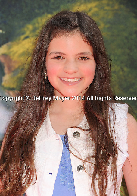 BURBANK, CA- MARCH 22: Actress Eva Bella attends the premiere of DisneyToon Studios' 'The Pirate Fairy' at Walt Disney Studios on March 22, 2014 in Burbank, California.
