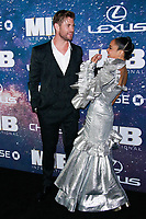 NEW YORK, NY - JUNE 11: Chris Hemsworth, Tessa Thompson at World Premiere of Men in Black International at AMC Lincoln Square on June 11, 2019 in New York City. <br /> CAP/MPI99<br /> ©MPI99/Capital Pictures