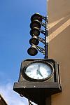 Clock, Place Verdun, Perpignan, France.