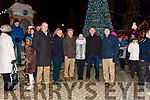 Pictured at the Abbeyfeale Switch On The Christmas Lights on Friday December 1st were Local Cllr. Liam Galvin, Thomás O' Connell, James Joy, Eileen & Connie McAuliffe & David Ward.