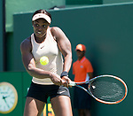 March 26 2018: Sloane Stephens (USA) defeats Garbine Muguruza (ESP) by 6-3, 6-4, at the Miami Open being played at Crandon Park Tennis Center in Miami, Key Biscayne, Florida. ©Karla Kinne/Tennisclix/CSM