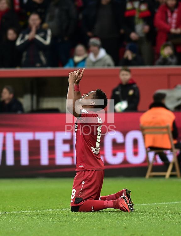 Football : Germany -1. Bundesliga  2017/18 <br /> Bayer Leverkusen 04 vs Mainz <br /> 28/01/2018 - Wendell *** Local Caption *** &copy; pixathlon<br /> Contact: +49-40-22 63 02 60 , info@pixathlon.de