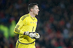 Wayne Hennessey of Wales during the international friendly match at the Cardiff City Stadium. Photo credit should read: Philip Oldham/Sportimage