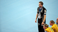 EHF Champions League Handball Damen / Frauen / Women - HC Leipzig HCL : SD Itxako Estella (spain) - Arena Leipzig - Gruppenphase Champions League - im Bild: HCL Coach / Trainer Heine Jensen. Foto: Norman Rembarz .