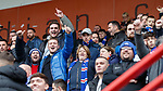 24.11.2019: Hamilton v Rangers: Rangers fans