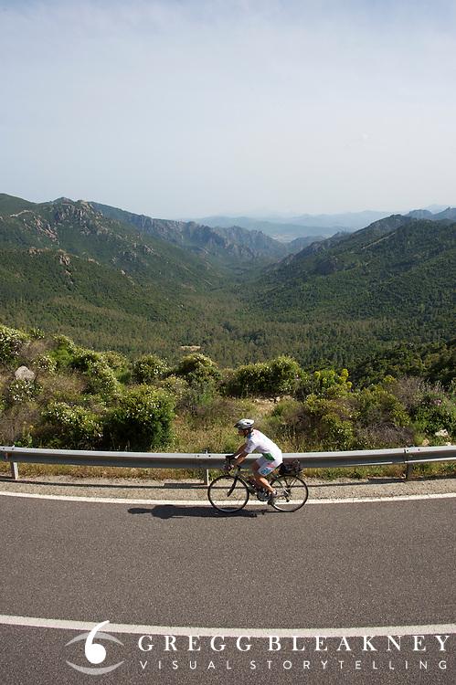 Sardinia - Italy  Bicycle Touring - Sardinia - Italy