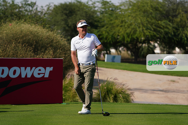 Soren Kjeldsen (DEN) on the 16th during Round 1 of the Commercial Bank Qatar Masters 2020 at the Education City Golf Club, Doha, Qatar . 05/03/2020<br /> Picture: Golffile | Thos Caffrey<br /> <br /> <br /> All photo usage must carry mandatory copyright credit (© Golffile | Thos Caffrey)