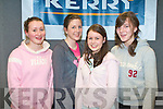 BRIANS TO BURN: The student of Listowel Presentation who competed in K.S.T.A. Junior Science quiz at Tralee I. T. south campus on Thursday l-r: Emma Grimes, Louise Dineen, Aideen O'Connor and Amber Greaney.