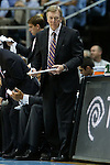 09 November 2012: UNC assistant coach C.B. McGrath. The University of North Carolina Tar Heels played the Gardner-Webb University Runnin' Bulldogs at Dean E. Smith Center in Chapel Hill, North Carolina in an NCAA Division I Men's college basketball game. UNC won the game 76-59.
