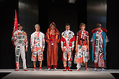 "Collection by Kayleigh Walmsley, UEL, University of East London. Runway show ""Best of Graduate Fashion Week 2015"". Graduate Fashion Week takes place from 30 May to 2 June 2015 at the Old Truman Brewery, Brick Lane."