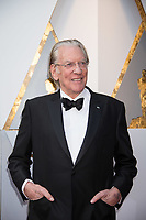 Donald Sutherland arrives on the red carpet of The 90th Oscars&reg; at the Dolby&reg; Theatre in Hollywood, CA on Sunday, March 4, 2018.<br /> *Editorial Use Only*<br /> CAP/PLF/AMPAS<br /> Supplied by Capital Pictures