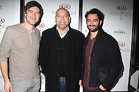 Mark Duplass, Jason Stuart, Jay Duplass<br /> KIA SUPPER SUITE BY STK hosts a cast dinner for films, THE OVERNIGHT, TANGERINE & ANIMALS, Handle Restaurant and Bar, Park City, UT 01-24-15<br /> David Edwards/DailyCeleb.com 818-915-4440