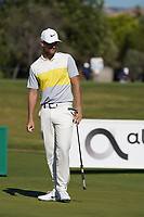 Lucas Bjerregaard (DEN) during round 1 of the Portugal Masters, Dom Pedro Victoria Golf Course, Vilamoura, Vilamoura, Portugal. 24/10/2019<br /> Picture Andy Crook / Golffile.ie<br /> <br /> All photo usage must carry mandatory copyright credit (© Golffile | Andy Crook)