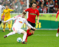 Timo WERNER, RB Leipzig - Robin KOCH, SCF   Fussball, 1. Bundesliga  2017/2018<br /> <br /> <br />  Football: Germany, 1. Bundesliga, SC Freiburg vs RB Leipzig, 20.01.2018. *** Local Caption *** © pixathlon