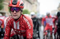 Jan Bakelants (BEL/Sunweb) post-finish after a super soaking stage 5<br /> <br /> Stage 5: Frascati to Terracina (140km)<br /> 102nd Giro d'Italia 2019<br /> <br /> ©kramon