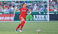 Portland, OR - Saturday May 27, 2017: Celeste Boureille during a regular season National Women's Soccer League (NWSL) match between the Portland Thorns FC and the Boston Breakers at Providence Park.