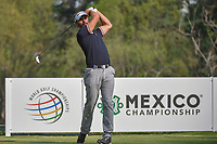 Joost Luiten (NLD) watches his tee shot on 18 during round 2 of the World Golf Championships, Mexico, Club De Golf Chapultepec, Mexico City, Mexico. 3/2/2018.<br /> Picture: Golffile | Ken Murray<br /> <br /> <br /> All photo usage must carry mandatory copyright credit (&copy; Golffile | Ken Murray)