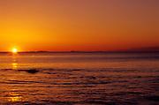 Coast of New Hampshire at sunrise