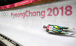 Alex Ferlazzo (AUS). Mens luge. Pyeongchang2018 winter Olympics. Alpensia sliding centre. Alpensia. Gangneung. Republic of Korea. 11/02/2018. ~ MANDATORY CREDIT Garry Bowden/SIPPA - NO UNAUTHORISED USE - +44 7837 394578