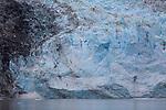 Johns Hopkins Glacier in Glacier Bay National Park in Alaska's Inside Passage.