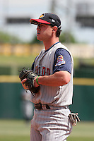 Toledo Mudhens Jack Hannahan during an International League game at Dunn Tire Park on June 8, 2006 in Buffalo, New York.  (Mike Janes/Four Seam Images)