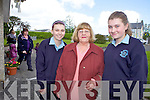 Laura Lane, Lilly Reilly and Carol Lane from Castleisland who attended the Padre Pio service in St. Brendan's Church, Ballymac on Tuesday.