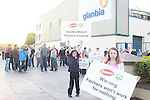 Farmers protest Glanbia