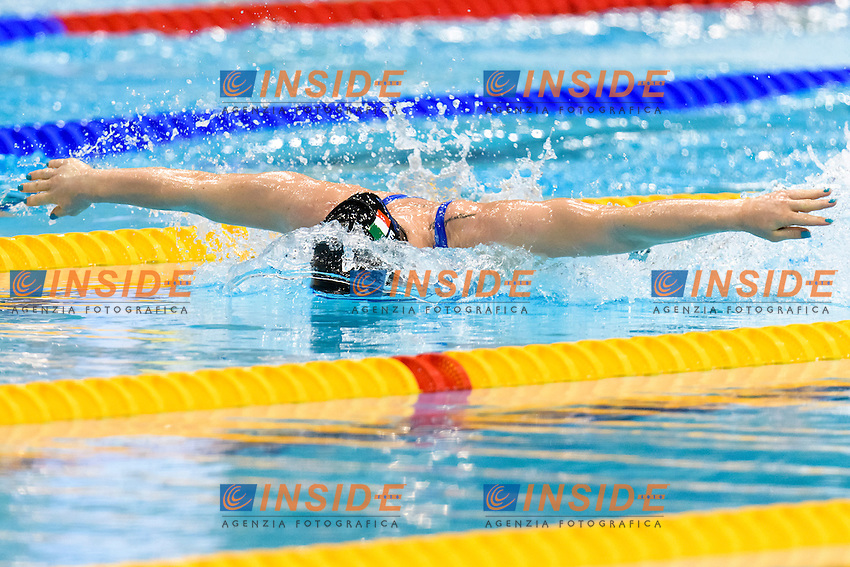 Ilaria BIANCHI ITA  <br /> 50 Butterfly Women <br /> London, Queen Elizabeth II Olympic Park Pool <br /> LEN 2016 European Aquatics Elite Championships <br /> Diving  <br /> Day 08 16-05-2016<br /> Photo Andrea Staccioli/Deepbluemedia/Insidefoto