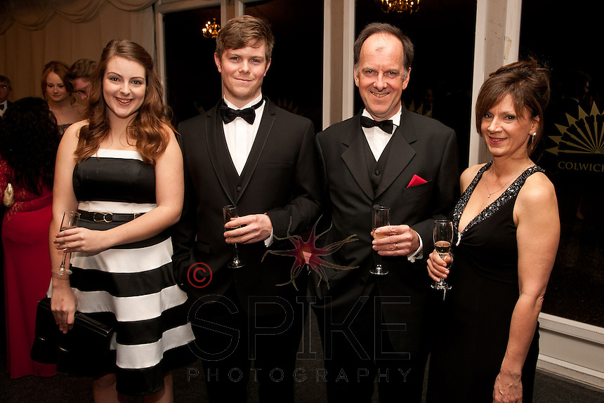 Sarah Collins and Ben Scruton (left) both of Austin Moore & Partners with John Scruton and Maria Moore both of Cartwright King