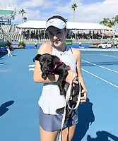 DELRAY BEACH, FL - NOVEMBER 05: CiCi Bellis participates in the 28th Annual Chris Evert/Raymond James Pro-Celebrity Tennis Classic at Delray Beach Tennis Center on November 5, 2017 in Delray Beach, Florida<br /> CAP/MPI/HOO<br /> &copy;HOO/MPI/Capital Pictures