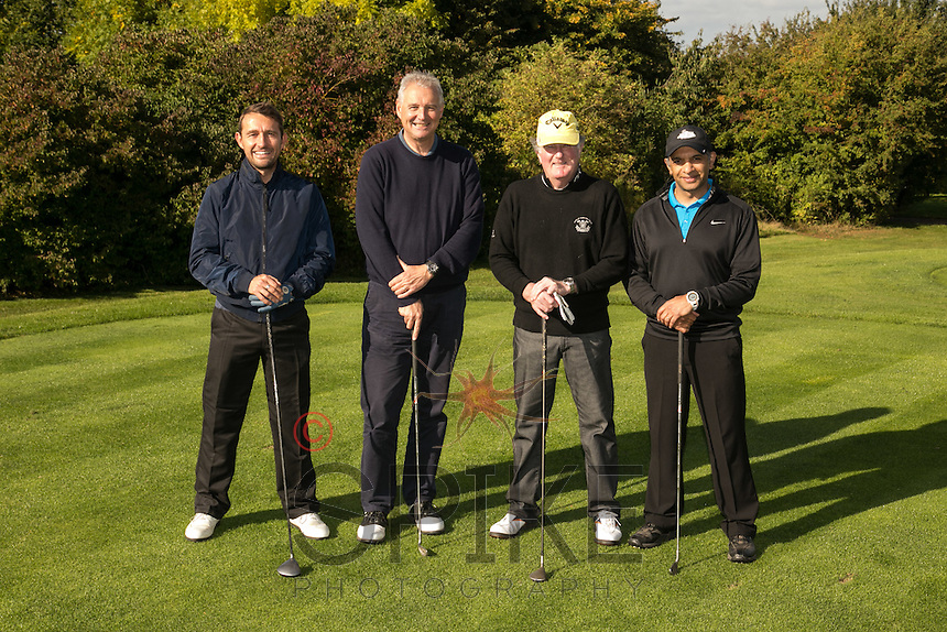 Biz Grants line up for the camera - from left Peter Lloyd, Steve Rudkin, Bob Standley and Amreesh Mishra