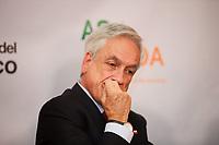 NOVA YORK, EUA, 25.09.2019 - POLITICA-EUA - Sebastián Piñera , Presidente Chile durante encontro do Conselho das Americas na cidade de Nova York nesta quarta-feira, 25. (Foto: Vanessa Carvalho/Brazil Photo Press)