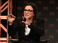 PASADENA, CA - FEBRUARY 4: EP/Writer/Director/Cast Member Pamela Adlon during the BETTER THINGS panel for the 2019 FX Networks Television Critics Association Winter Press Tour at The Langham Huntington Hotel on February 4, 2019 in Pasadena, California. (Photo by Frank Micelotta/FX/PictureGroup)