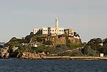 Alcatraz Island in San Francisco Bay, San Francisco, California.