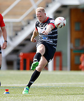 Scott Leatherbarrow in action for London during the Kingstone Press Championship game between London Broncos and Workington at Ealing Trailfinders, Ealing, on Sun June 5, 2016