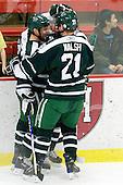 Scott Fleming (Dartmouth - 17), Nick Walsh (Dartmouth - 21) - The Harvard University Crimson defeated the Dartmouth College Big Green 4-1 (EN) on Monday, January 18, 2010, at Bright Hockey Center in Cambridge, Massachusetts.