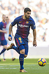 Luis Alberto Suarez Diaz of FC Barcelona in action during the La Liga 2017-18 match between Real Madrid and FC Barcelona at Santiago Bernabeu Stadium on December 23 2017 in Madrid, Spain. Photo by Diego Gonzalez / Power Sport Images