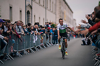 Serge Pauwels (BEL/Dimension Data) at the Team presentation in La Roche-sur-Yon<br /> <br /> Le Grand D&eacute;part 2018<br /> 105th Tour de France 2018<br /> &copy;kramon
