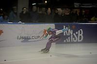 SCHAATSEN: DEVENTER: IJsstadion De Scheg, 12-10-2013, Nationale schaatswedstrijd de IJsselcup, Jesper Hospes, ©foto Martin de Jong