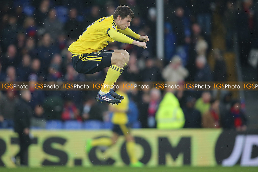 Marten de Roon of Middlesbrough during Crystal Palace vs Middlesbrough, Premier League Football at Selhurst Park on 25th February 2017