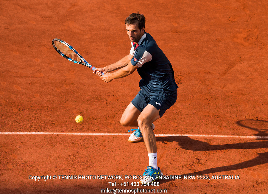 ALBERT RAMOS-VINOLAS (ESP)<br /> <br /> TENNIS - FRENCH OPEN - ROLAND GARROS - ATP - WTA - ITF - GRAND SLAM - CHAMPIONSHIPS - PARIS - FRANCE - 2017  <br /> <br /> <br /> <br /> &copy; TENNIS PHOTO NETWORK