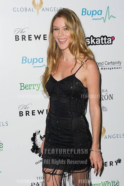 Joss Stone arriving for The Global Angels Awards 2012, The Brewery, London. 09/11/2012 Picture by: Simon Burchell / Featureflash