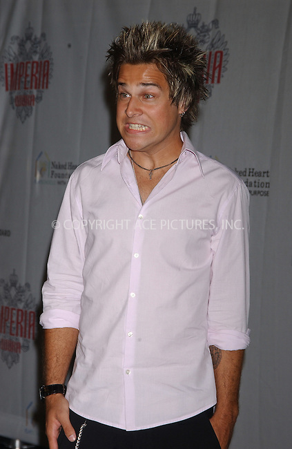 WWW.ACEPIXS.COM . . . . .  ....NEW YORK, SEPTEMBER 7, 2005....Ryan Cabrera at the Imperia Vodka launch held at the Statue of Liberty.....Please byline: AJ Sokalner - ACE PICTURES..... *** ***..Ace Pictures, Inc:  ..Craig Ashby (212) 243-8787..e-mail: picturedesk@acepixs.com..web: http://www.acepixs.com