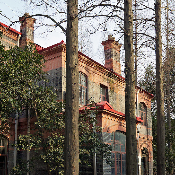 Old Building On The Soochow University Complex.