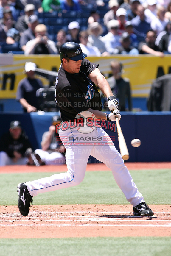 May 25th 2008:  Third baseman Scott Rolen (33) of the Toronto Blue Jays during a game at the Rogers Centre in Toronto, Ontario, Canada .  Photo by:  Mike Janes/Four Seam Images