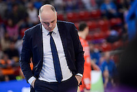 Real Madrid's coach Pablo Laso during 2017 King's Cup match between Real Madrid and Valencia Basket at Fernando Buesa Arena in Vitoria, Spain. February 19, 2017. (ALTERPHOTOS/BorjaB.Hojas) /NortEPhoto.com