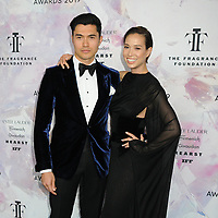 05 June 2019 - New York, New York - Henry Golding and Liv Lo. 2019 Fragrance Foundation Awards held at the David H. Koch Theater at Lincoln Center. Photo Credit: LJ Fotos/AdMedia