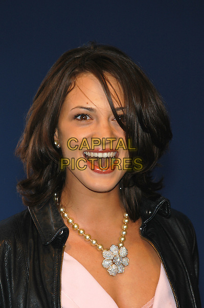 ASIA ARGENTO.Deauville Film Festival, Deauville Film Festival,.7th September 2002..portrait headshot flower necklace.Ref: PL.www.capitalpictures.com.sales@capitalpictures.com.©Capital Pictures.