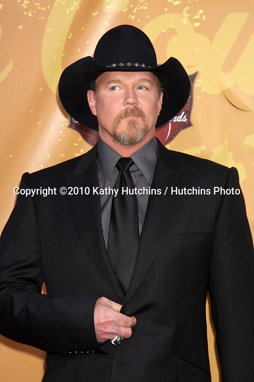 LOS ANGELES - DEC 6:  Trace Adkins arrives at the 2010 American Country Awards at MGM Grand Garden Arena on December 6, 2010 in Las Vegas, NV.